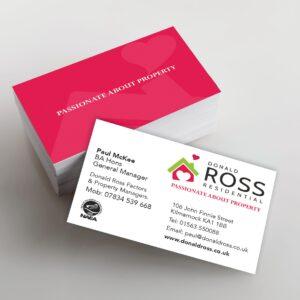 Donald Ross B Cards