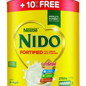 1 nestle nido full cream milk powder tin 2750 gm