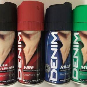 Denim Deodorant Body Spray