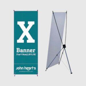 X Banner 80180N 350x434