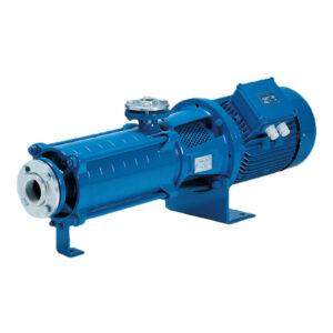 Horizontal Multistage Pumps Suction Lift 7m 23ft