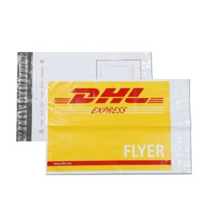 Self adhesive biodegradable plastic mailing custom poly