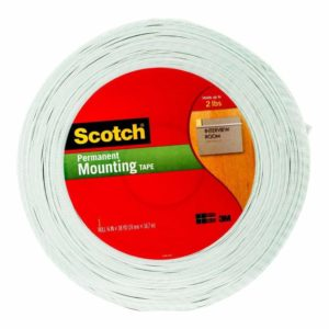 scotch double sided foam mounting tape x yards