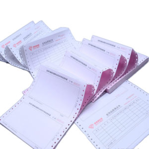 Invoice printing NCR Commercial invoice Duplicate triplicate book printed for computer dot matrix printer jpg x