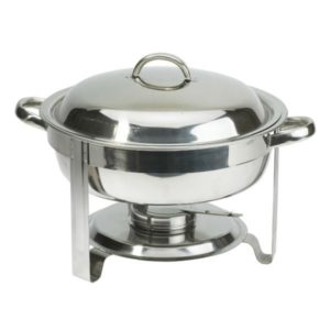 chafing dish round litre c