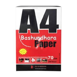 bashundhara paper a size gsm rim